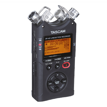 Tascam DR-40 V2 4-Track Portable Audio Recorder